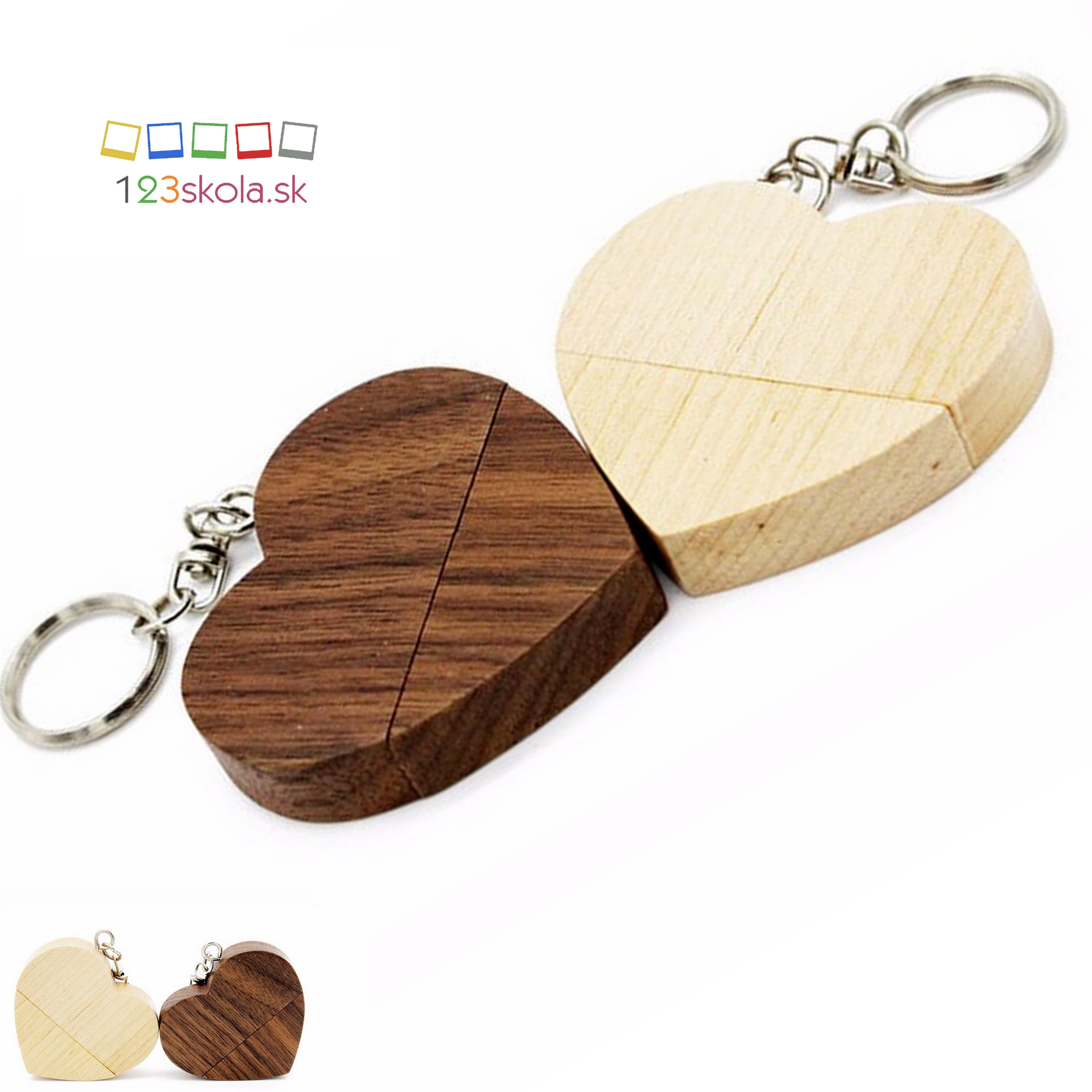 USB kľúč - prívesok SRDIEČKO  37481f1392b